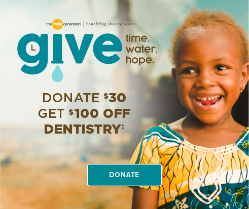 Donate $30, Get $100 Off Dentistry - Dentists of Stone Oak